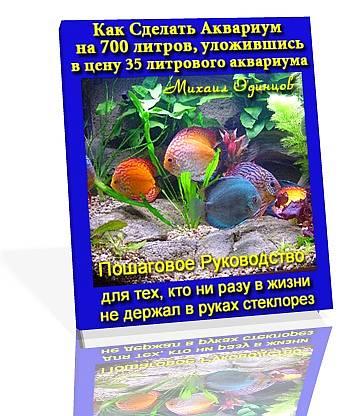Как сделать аквариум. Автор Михаил Одинцов